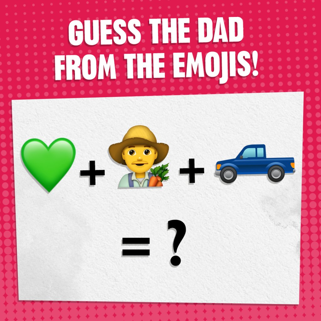 It's #FathersDay, and we've got a test for you! Can you guess the #DisneyTVA character from these emojis?