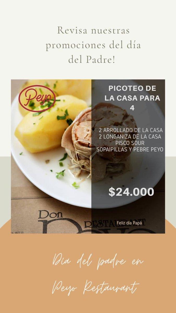 Pa lo papitos 🐷 la media promo de @PeyoRestaurant que se fue a delivery! Y apoyamos a la industria gastronómica que pasa su peor momento @oivpeyo 👇 https://t.co/fZklRMww8F https://t.co/g8negjSTnD