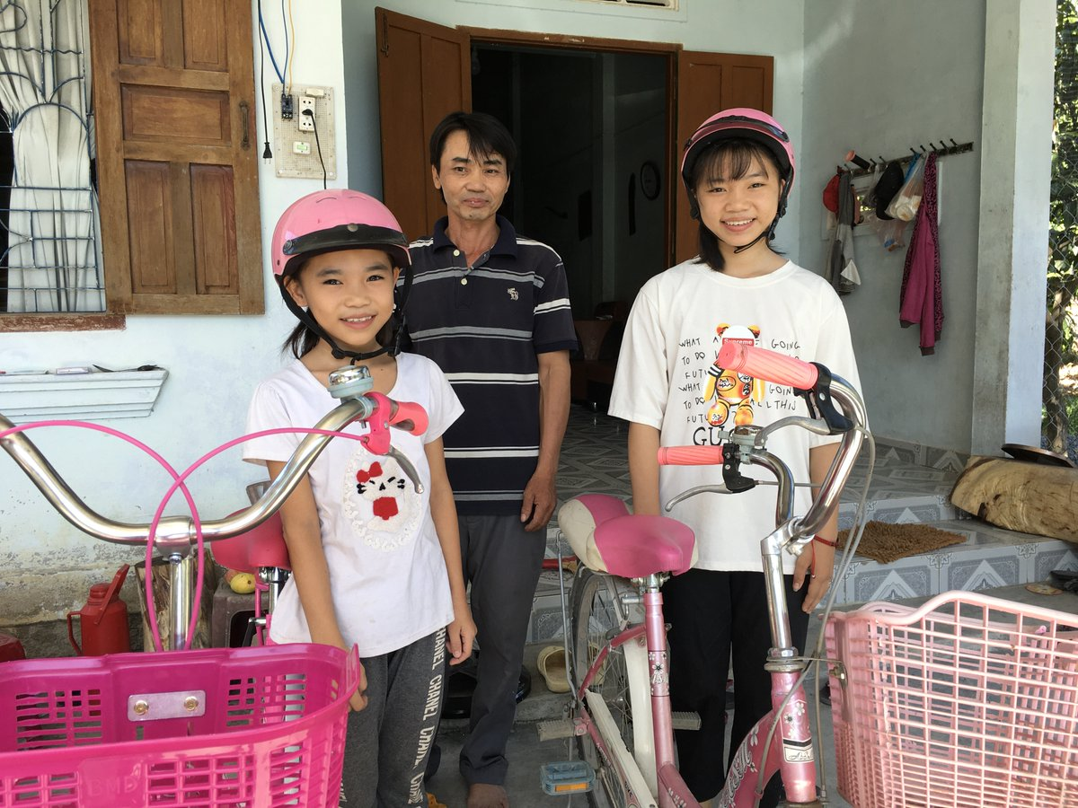 """""""My biggest dream is for my children to go to college. No one in my family went to college, so if my daughters can, they will be the first."""" -Nguyen Van Dong from Khanh Hoa Province, Vietnam shares his hopes for his daughters this #FathersDay."""