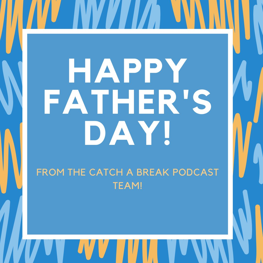 Happy Fathers Day! How are you celebrating, Dads?       #catchabreakpodcast #thewayback #holiday #celebrate #dads #filmdad #tvdad #moviedad #setdad #filmfamily #moviefamily pic.twitter.com/nWd3alLzYA