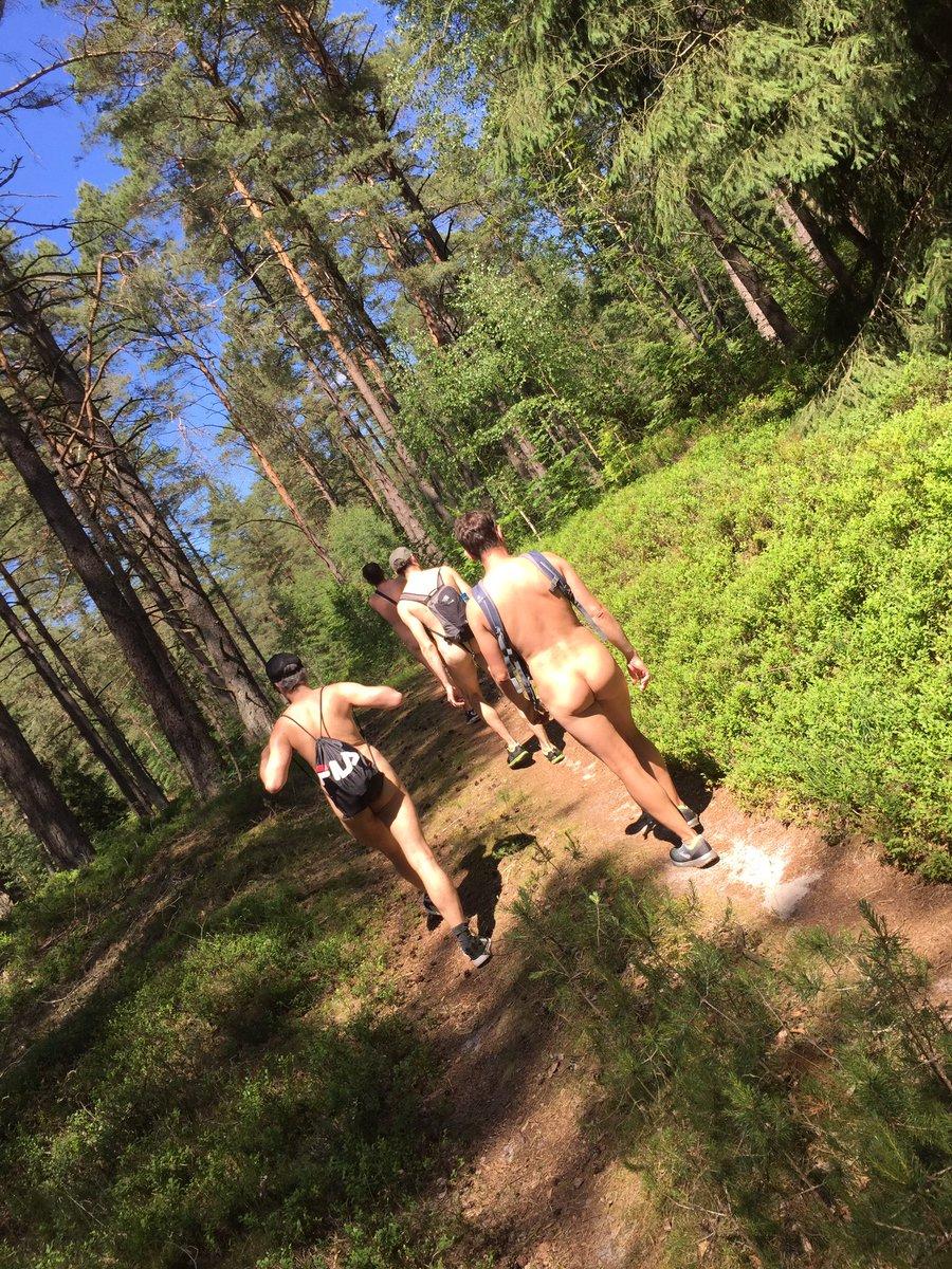 Undeloh nacktwanderweg Naturistenweg am