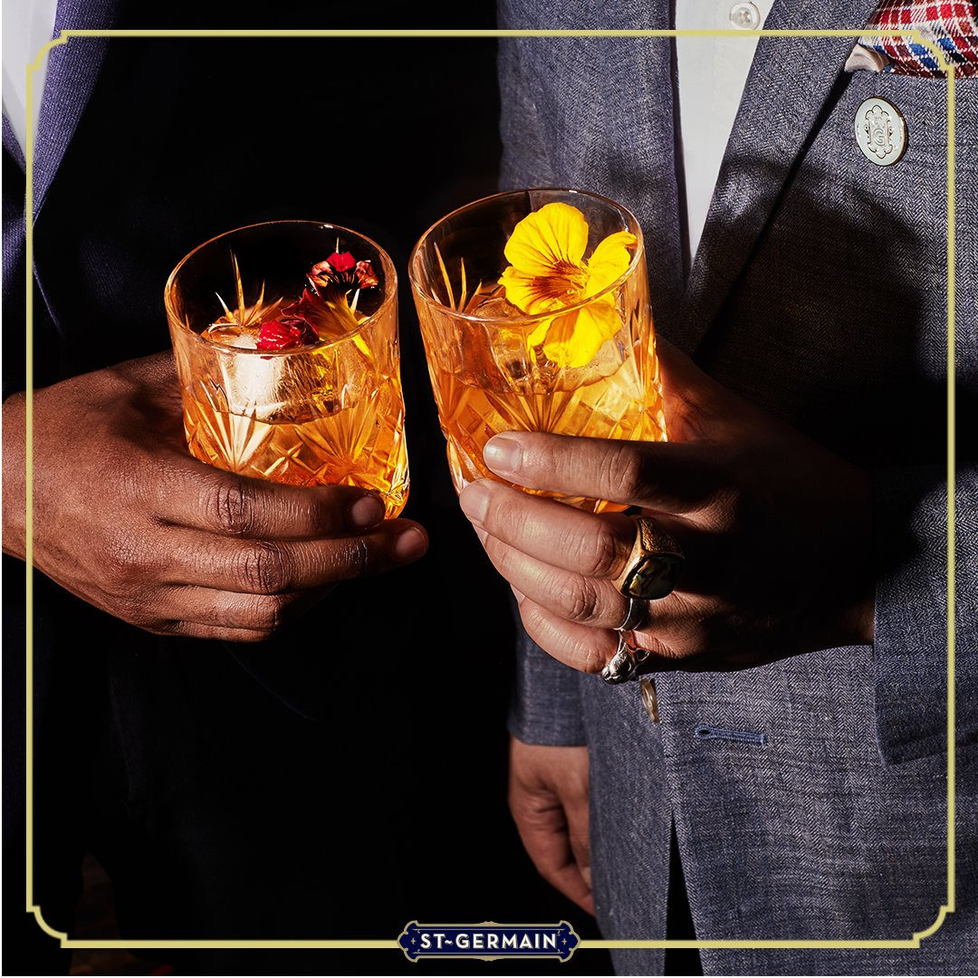 Dad taught you the basics, now teach him how to keep it fresh! Share a toast this Father's Day with the ElderFashioned. Replace simple syrup with St-Germain for a French twist! #HappyFathersDay #StGermainDrinks https://t.co/hUVSETxVZd