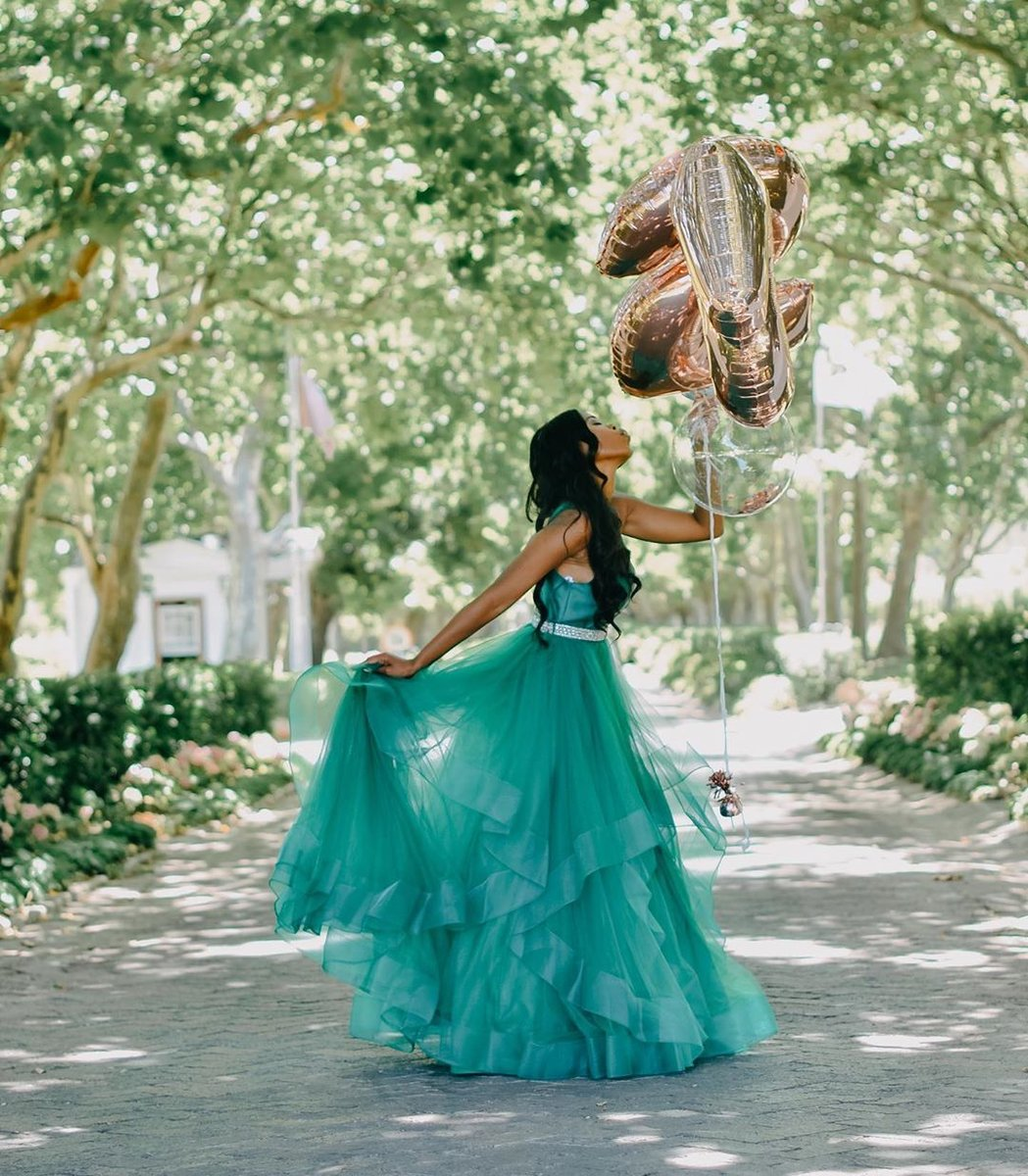 #repost @thandekasivunga looking picture-perfect in style 60388!  For style information, visit: https://t.co/Tmju4xFBtC  #alycegirl #greenballgown #promgoals #prom2k20 #glam #ballgown #layeredskirt #eveningwear #formalwear #gala #redcarpet #alyceparis #dreamersanddressmakers https://t.co/5uYcDf3Fon