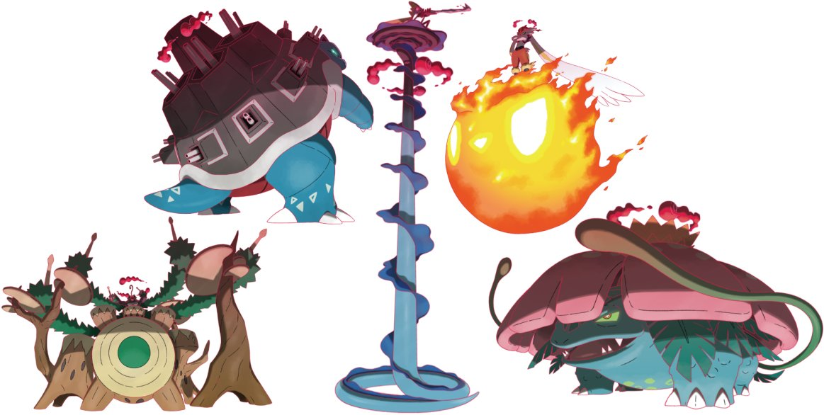 Smogon University On Twitter What Do Smogon S Finest Art Critics Think Of Gigantamax Starter Pokemon Check Out This Article If You Want To Find Out Https T Co Mrg0rvidry Https T Co Imujubgpyz Rillaboom is a large, bipedal pokémon that resembles a gorilla. gigantamax starter pokemon