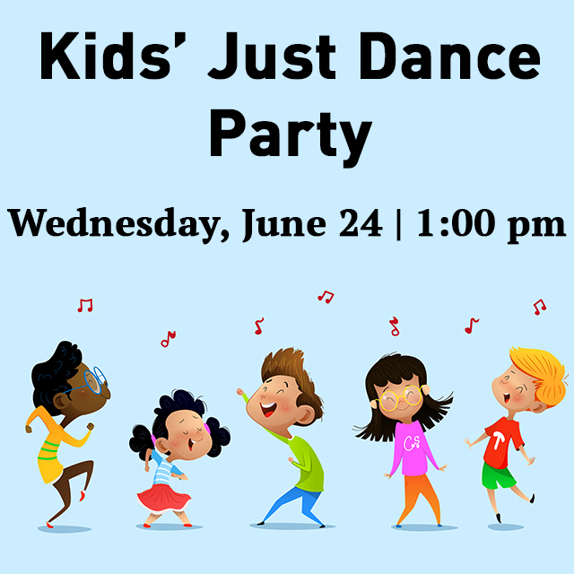 Join us for our next Kids' Dance Party Wednesday afternoon! RSVP today at https://t.co/yd1OUJGSnR #TCSCC https://t.co/DrhVpUVWl4