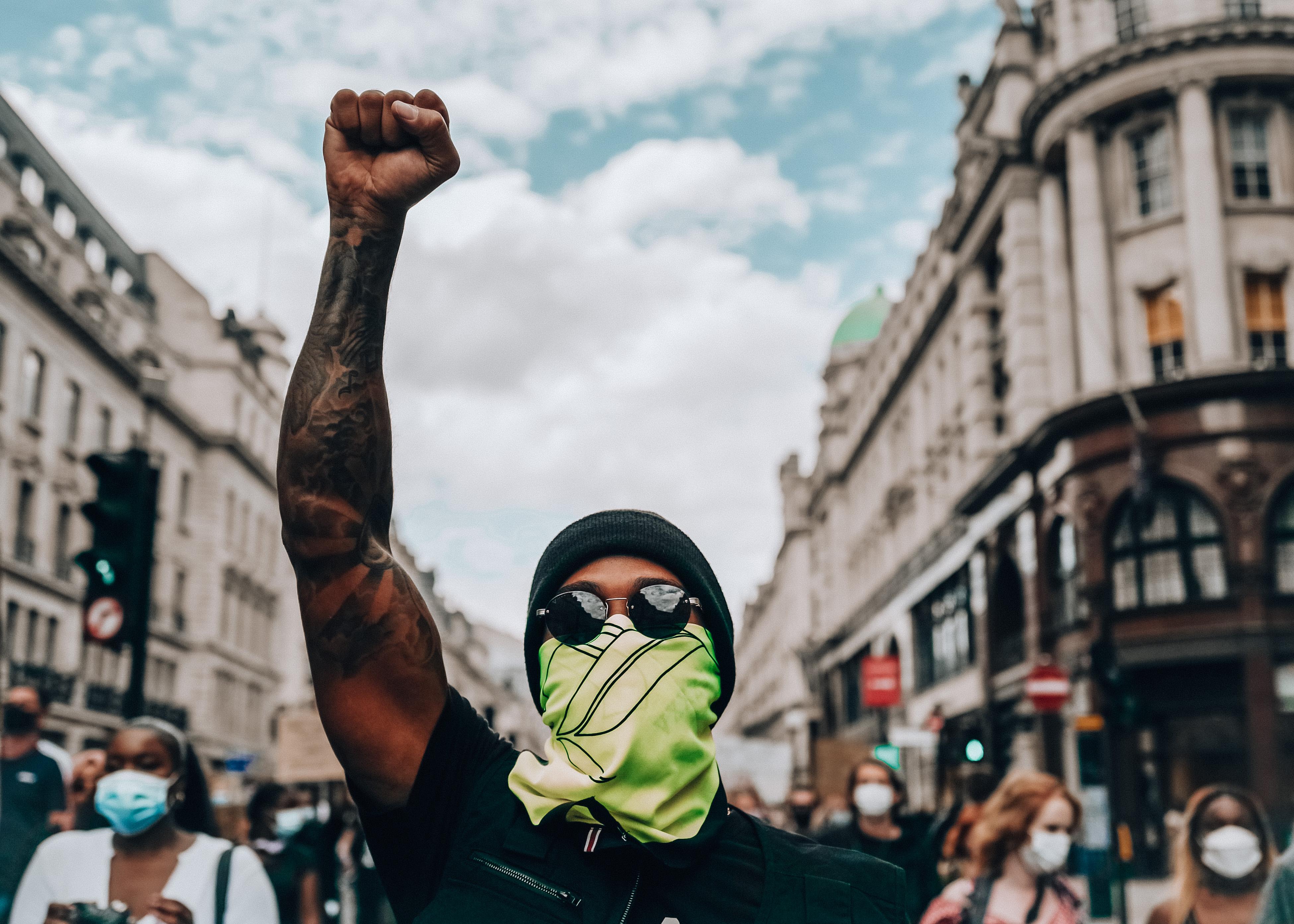 Hamilton manifestazione