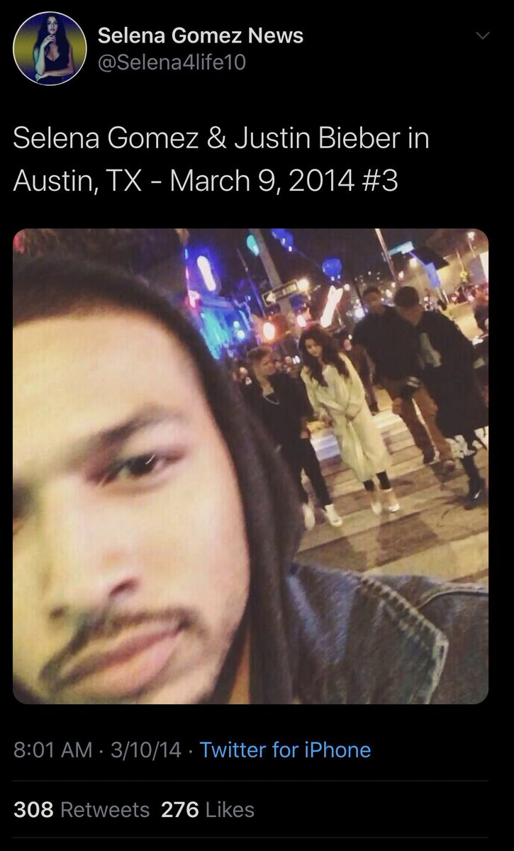 These photos clearly show me on stage with my assistant sidestage and the other with both of us in the streets of Austin afterwards on March 9 2014 https://t.co/WlC6KAvJOZ