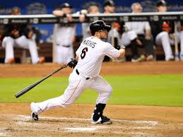June 30, 2013: Miami @Marlins Jeff Mathis hit a walk-off grand slam off Tyson Ross for a 6-2 win over the San Diego Padres. It was Mathis' first career walk-off grand slam and fourth in Marlins history. https://t.co/0krYUAH3S8