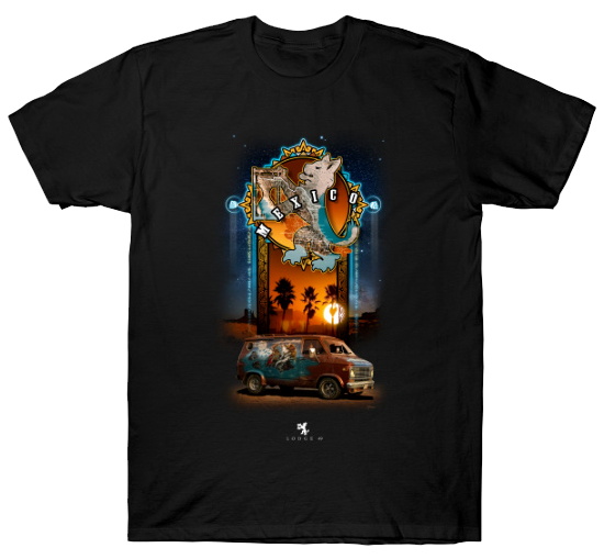'Le Reve Impossible' *Special Edition* shirts with front AND back print are now added on 24 hour sale for $20 (along with all the others) at:   #Lodge49 #drynxwithlynx #longlivelodge49 #Lodge49Forever
