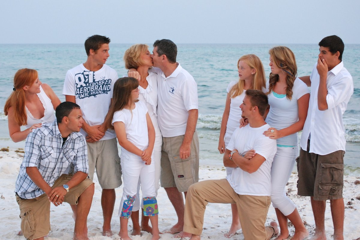 Tim's Rule #2 for Dadship: 'Your kids see the way you treat your spouse--it really matters--nothing more important.'