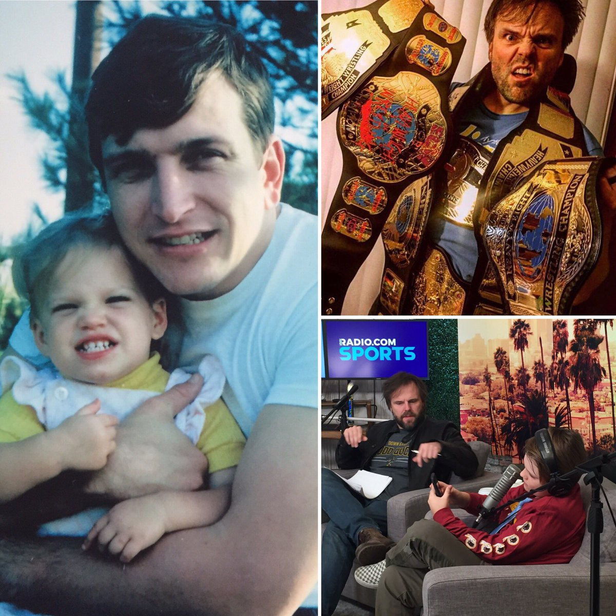 Since I already had #thebestdadintheworld it was hard to find a man who could measure up. Luckily @eddiepence was available! He has #allthebelts and kills it at #takeyourkidtoworkday. #happyfathersday2020 #eddiots @podcastramble1 @swingsandmrs #garmy #traceysellsla https://t.co/1ea4tXTd1A