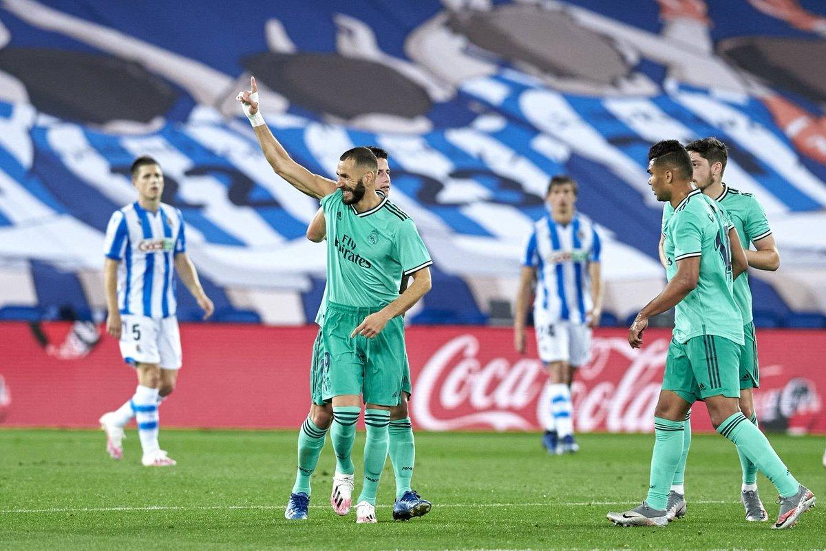 Xem lại bóng đá Real Sociedad vs Real Madrid, La Liga – 22/06/2020