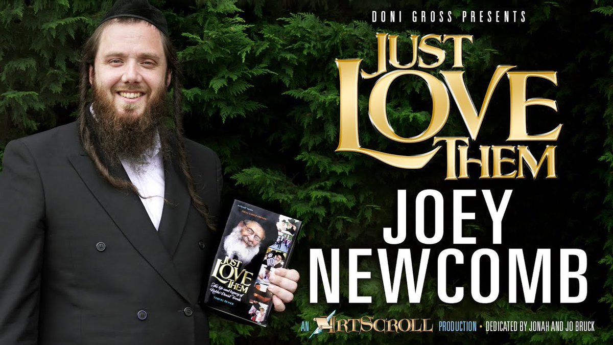 JUST LOVE THEM – Joey Newcomb – Echoing The Song Of Reb Dovid Trenk dlvr.it/RZ5BsM