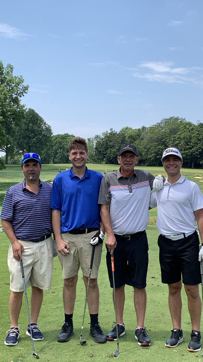 Another great Father's Day in the books. Had a blast at Canterbury today with the squad. So thankful for eveyine in this picture, especially the best dad and role model in the world @TheRealTRizzo I don't have a clue where i would be without him.