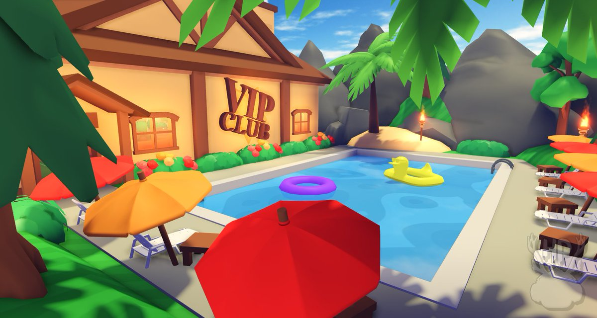 Roblox Games You Can Buy Ranks On Code Honey On Twitter If You Become A Vip In Overlook Bay You Get This Free Exclusive Pet And Access To Our Vip Club In Game Plus The Vip Rank Next To