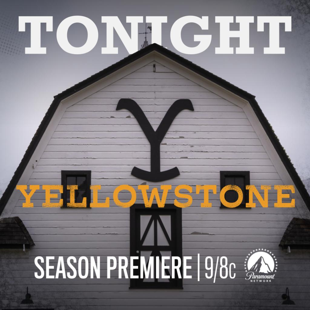 Cmt On Twitter Don T Miss The Season 3 Premiere Of Yellowstone Tonight At 9 8c On Paramountnet
