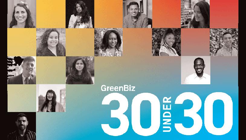 Kudos to these 2020 @GreenBiz 30 Under 30 rising stars: @AlexisCureton_ @DugandMateo @arturoeliz @katerinafragos @HNLiswani @kieraeobrien @priyukli @gozturkeri @MattPanopio @sarahwreed @MesbahSabur @josem_salazarh @daph_nyc_ The full list: bit.ly/37NlHMa