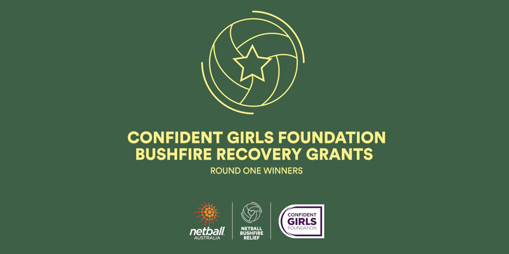 Netball Australia's charity, the @ConfidentGirls Foundation has announced the successful recipients from Round 1 of the Foundation's Bushfire Recovery Grants program.  Read more - https://t.co/VkVrybCUAh https://t.co/mfoPkiSXyH