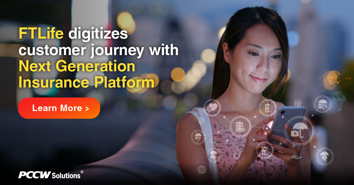 Explore how FTLife #digitizes end-to-end processes, creates superior #experience and increases market #competitiveness with PCCW Solutions' Next Generation #Insurance Platform and #mobile #sales tool.  https://t.co/ZmGR2TL8vA https://t.co/iuycZbWGmo