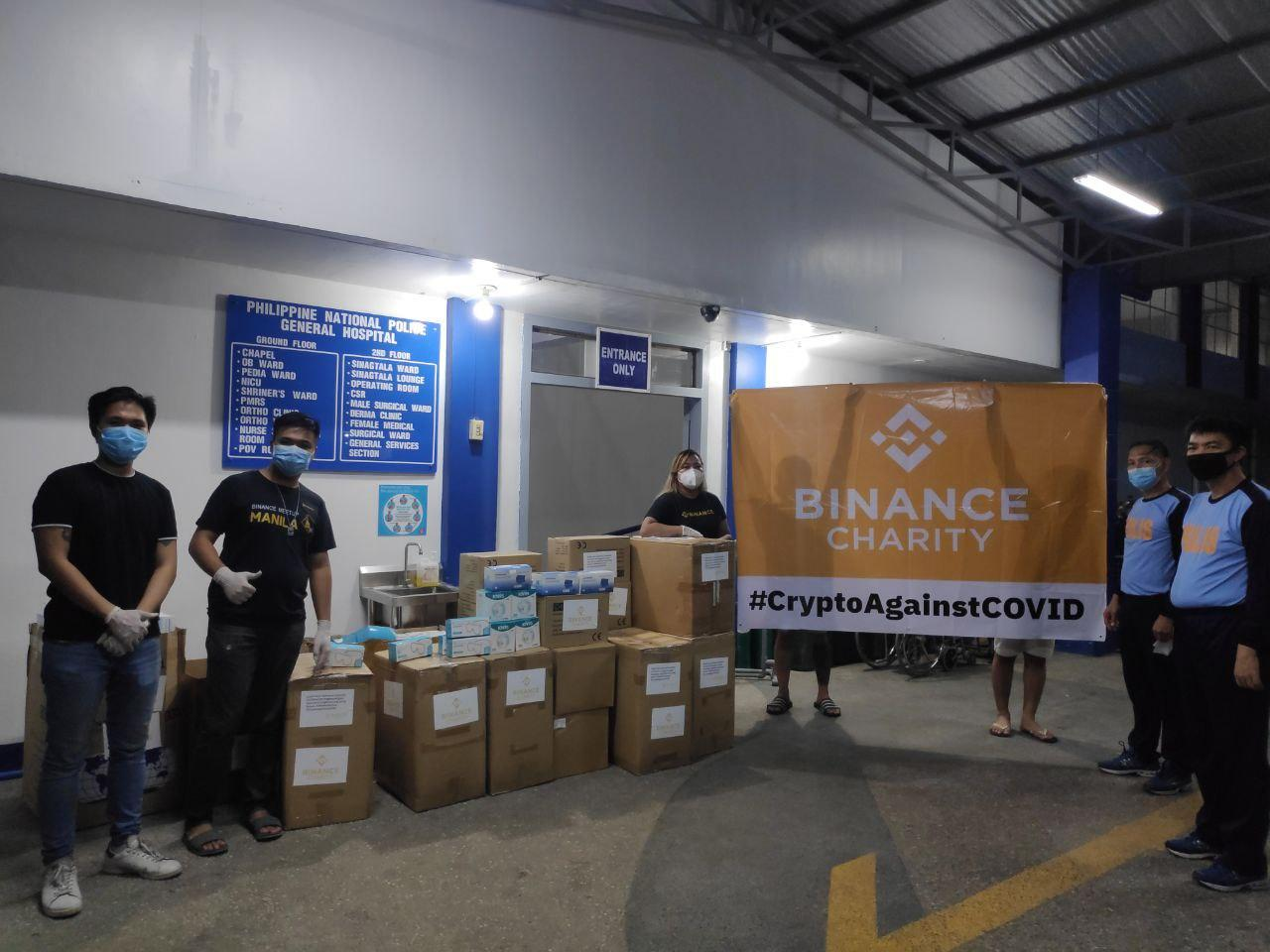 #Binance Charity sigue combatiendo el #Coronavirus en Filipinas.