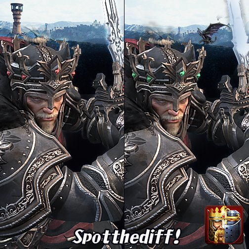 #CoKContest Spot all 5 differences! https://t.co/Wnzzufp7kR
