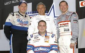 June 30, 2002: Necedah's Jim Sauter dropped out of the GNC Live Well 250 at the Milwaukee Mile, but he had reason to be proud. The Sauters became the first family to put a father and three sons in the same @NASCAR field. Tim finished 9th, Johnny 12th, and Jay 13th. https://t.co/6W5r5MmJNA