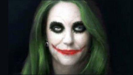 Kate as The Joker