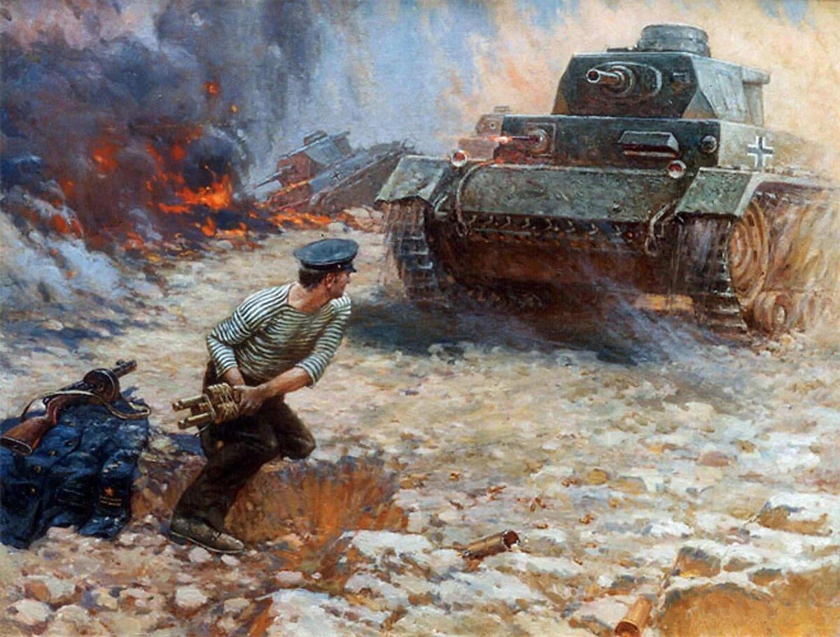 Подвиг советского народа в Великой Отечественной войне.