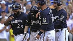 July 4, 2011: @Brewers pitcher Shaun Marcum set team history by becoming the first Brewers pitcher to hit a grand slam home run. He hit it in the bottom of the 4th inning against the Arizona Diamondbacks and it gave the Brewers and Marcum a 6-1 lead. Dbacks rallied for 8-6 win. https://t.co/d5MVPUhvkc