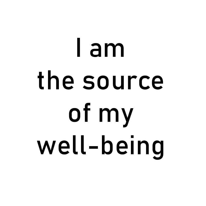 I am the source of my well-being . . . . . #vidyasury #affirmations #mondaymotivation #dailyaffirmations #positivevibes #mindfulness #selflove #selfcare #personaldevelopment #instadaily #collectingsmiles https://t.co/YadtSU8fue https://t.co/1eeUWQKBjS