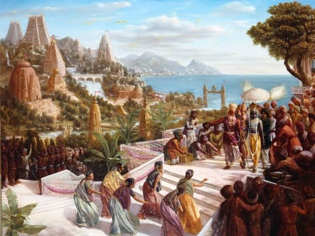 Battle of Dwarka (part 1)This is a historical event mentioned in Mahabharata, read and try to compare with modern day warfare.
