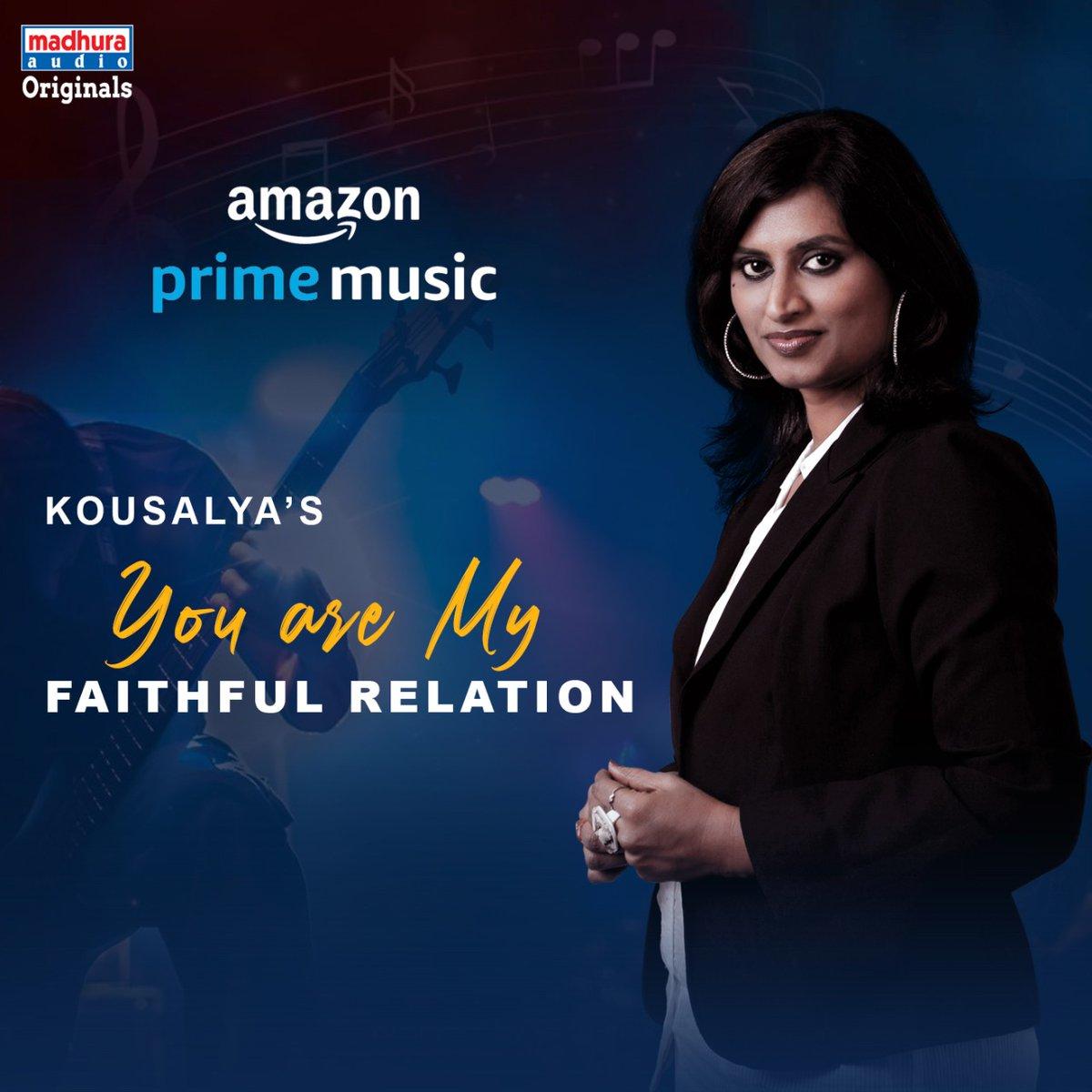 Talented Singer @Kousalyapotturi's #YouAreMyFaithfulRelation IS Streaming On Your Favorite OTT App  @amazonmusic:  https://music.amazon.in/albums/B08B5YKZ5B?tab=CATALOG…pic.twitter.com/nf802WhKf2