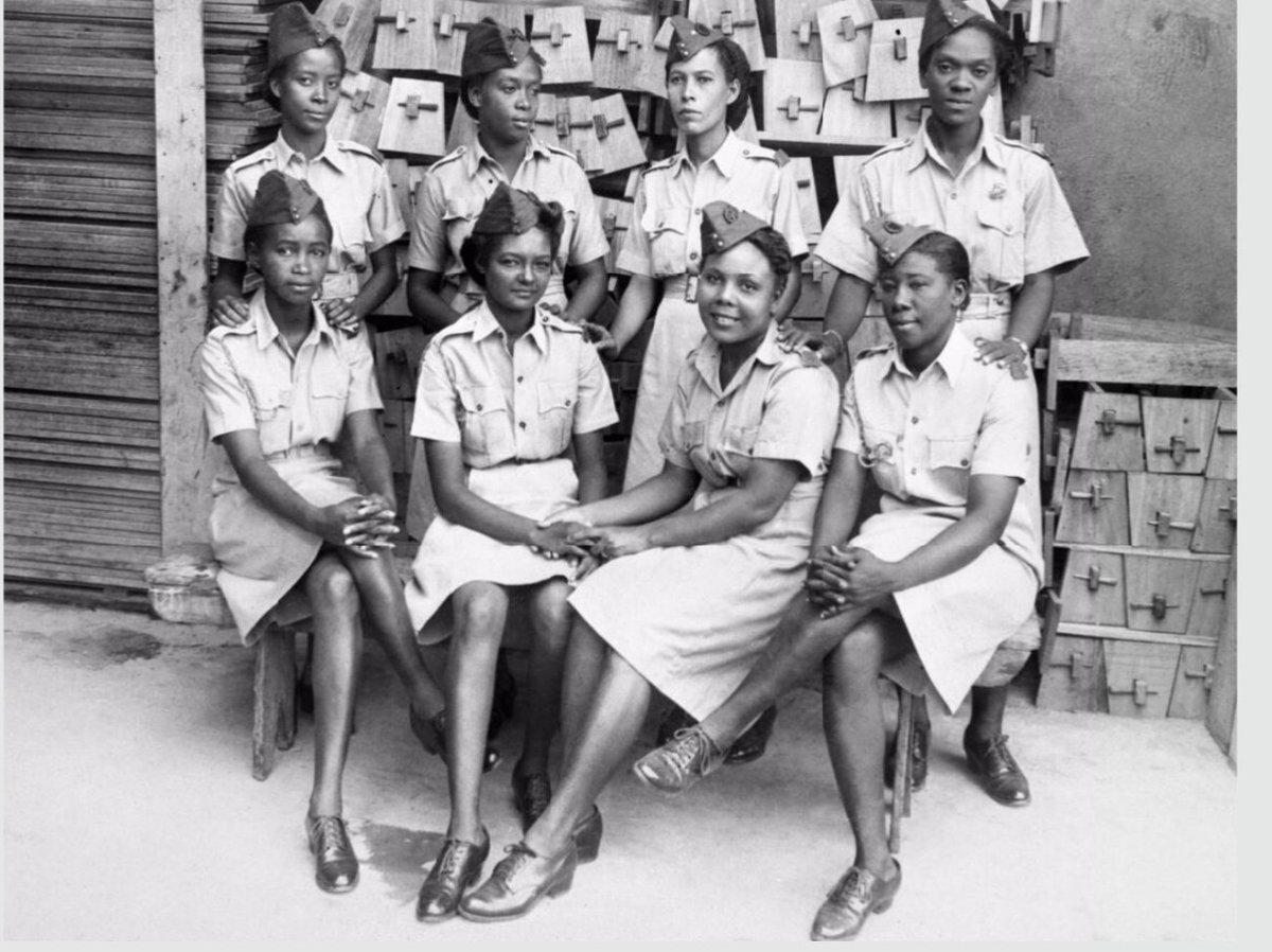On #WindrushDay, we honour the contributions of the Windrush generation and its descendants.    During WW2 thousands of men and women from the Caribbean assisted in the war effort. After the war, many of those personnel helped to rebuild the UK.      📸© IWM K 8832 © IWM E 31198 https://t.co/XrJbirnYiq