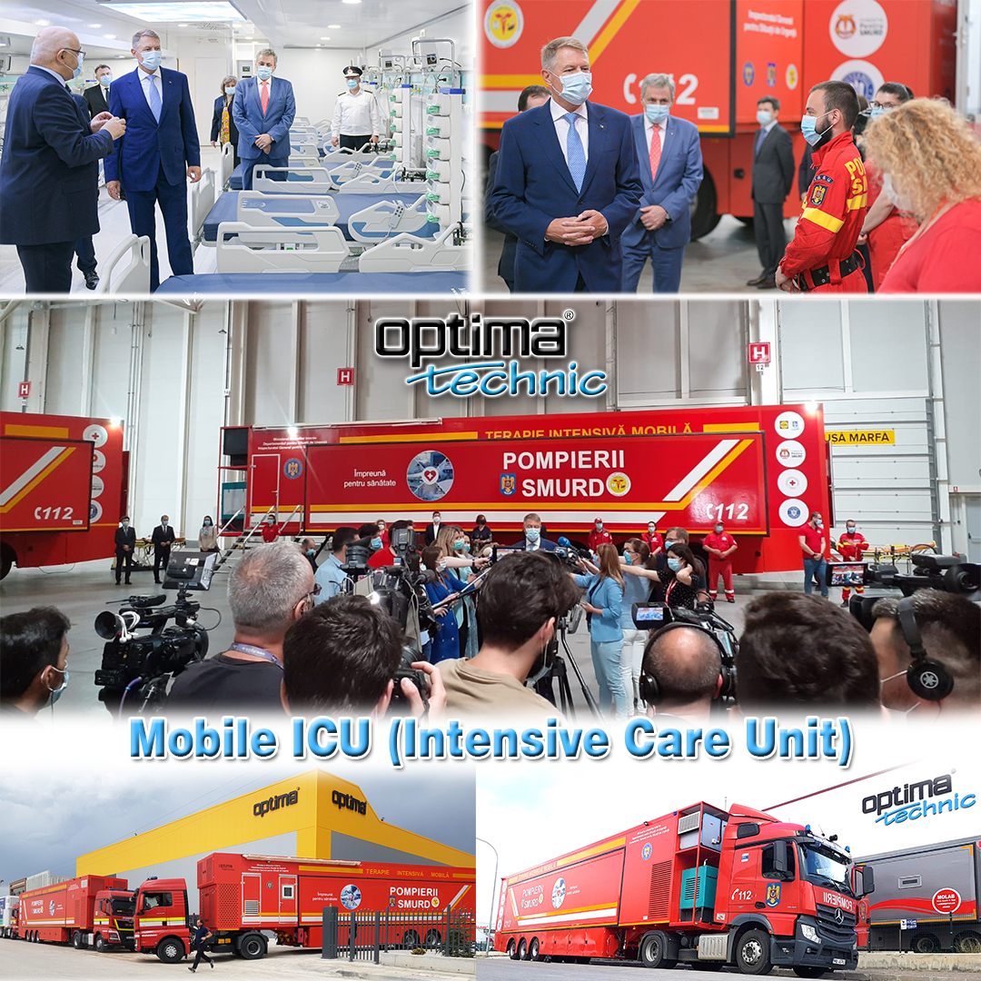 Trailer Based Mobile ICU which manufactured by Optima Technic, introduced at opening ceremony from Romanian President Mr. Klaus Iohannis. #madeinturkey #mobilehospital #healty #optimatechnic #mobileclinics #mobileclinic #fieldhospital #isolated #intensivecareunit #virus #icu https://t.co/dIxe2lSxqf