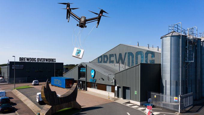 Drone Beer Delivery Coming to Ohio (But the Wings Are In Alabama)