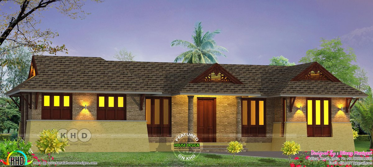 Kerala Home Design Khd On Twitter Kerala Traditional Home Design Https T Co Jwfzswynnu Architecture 3drendering