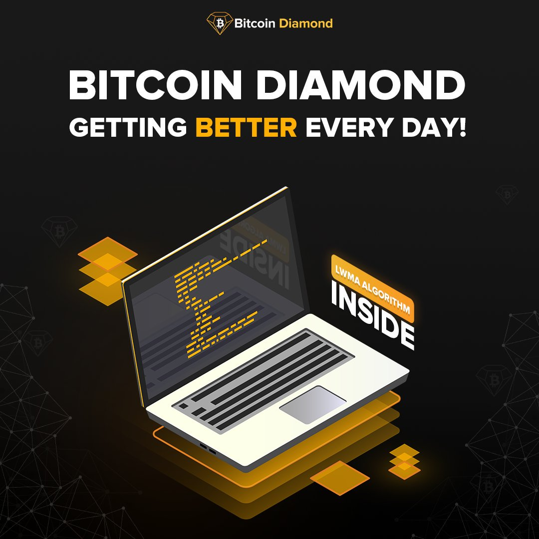 The LWMA Algorithm and Light network is just one of the many improvements the team behind BCD has implemented to secure the network and protect our users. Were always working hard to make sure that Bitcoin Diamonds future is assured.@BCDKOREAN @BCD_Community @BCD_Russian