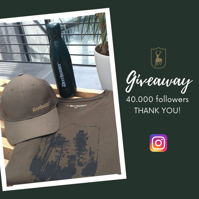 We have a cool #giveaway on our Instagram where you can win a Deerhunter bottle, a t-shirt (men's/women's) and a nice cap - Perfect for the great #outdoors🏕️  👉https://t.co/aSCOu4iSTr  We will find a winner on Thursday, June 25 at 2PM🍀  #Deerhunter #outdoorgear #outdoorclothing https://t.co/M9aKG4yl9F