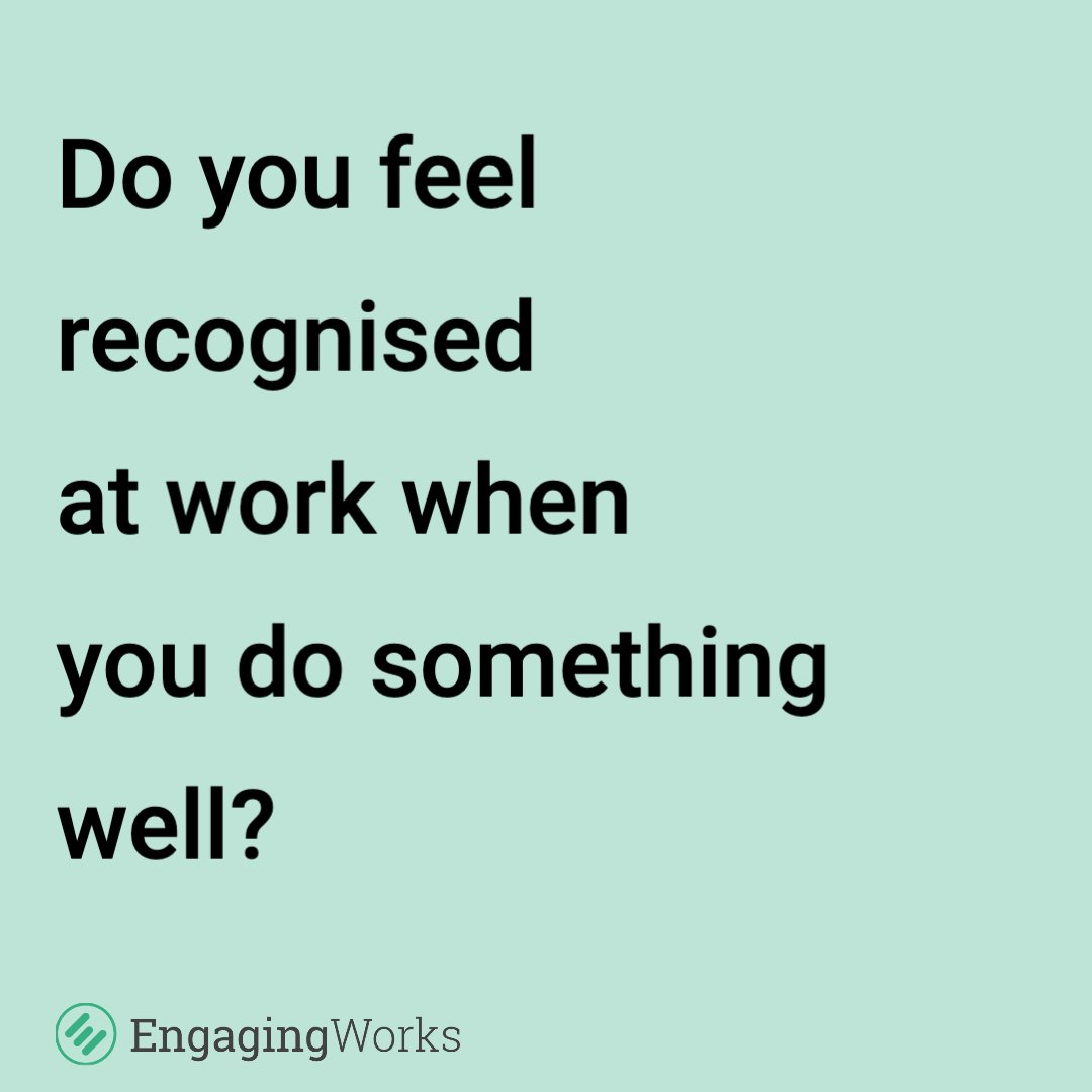 Our Workplace Happiness Survey is based on 6 areas, including Reward and Recognition. Do you feel that you are recognised and appropriately rewarded for you job? Take the survey here: https://soo.nr/TWZZ #jobsatisfaction #worklifebalance #worklifeblend pic.twitter.com/PAPqtrVfyK