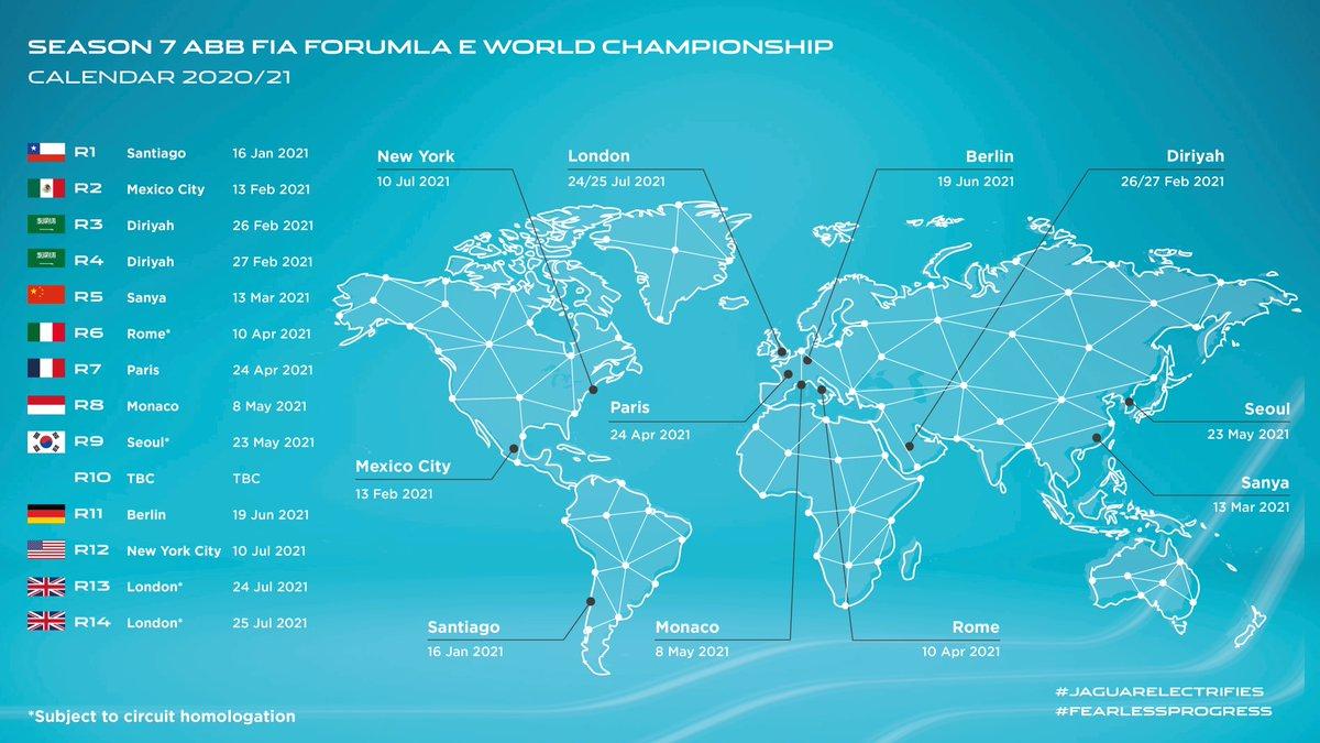 🚨 Season 7 ABB FIA Formula E World Championship  Which race are you most looking forward to?  #JaguarElectrifies #FearlessProgress #ABBFormulaE https://t.co/1t8m8uPZOF