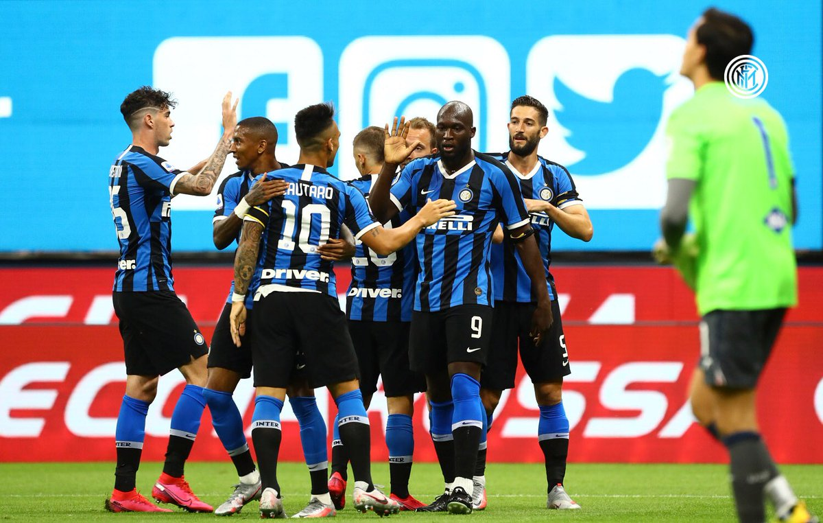 Good start to the season resumption 🤘🏾🔵⚫️ FORZA INTER https://t.co/Ew9HAeqxy5