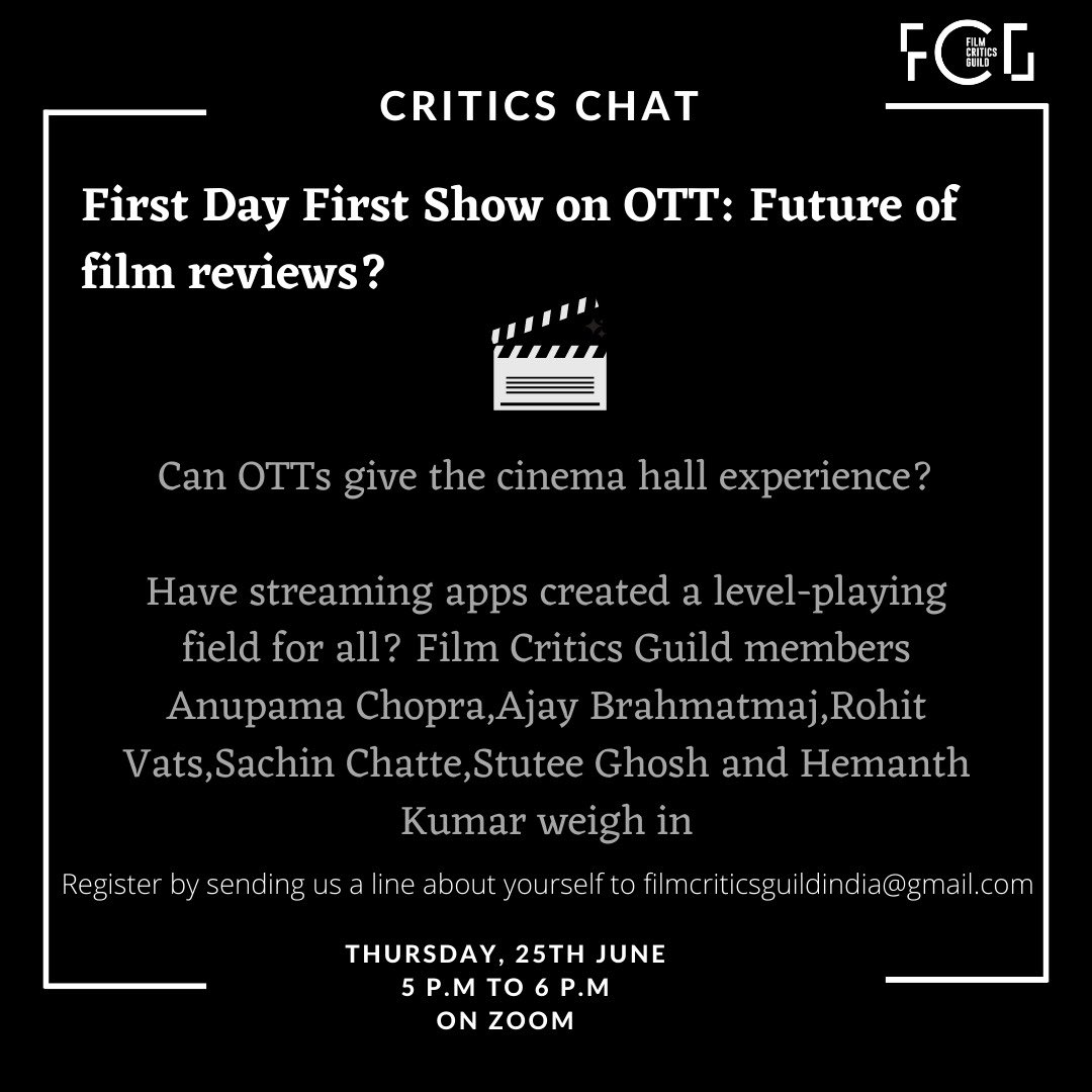 Film Critics Guild Thefcgofficial Twitter