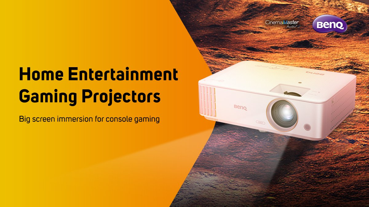 Bring the immersion of the big screen into your living room with @BenQ_UK 4K and gaming projectors.  Find out more: https://t.co/eL7bepNCr5 https://t.co/D7IumfUMRF