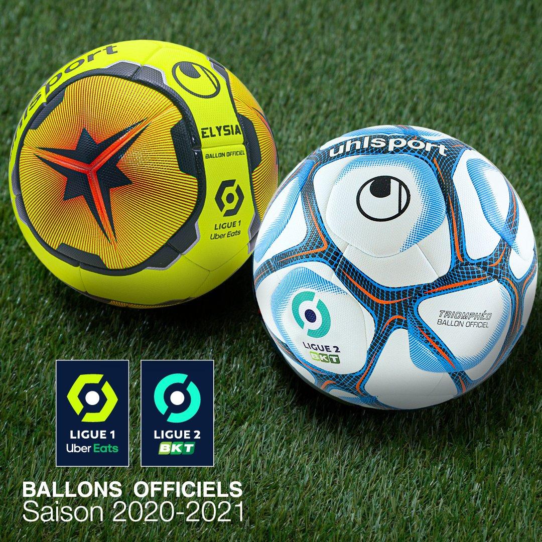 Nouveaux ballons de la Ligue 1 et la Ligue 2
