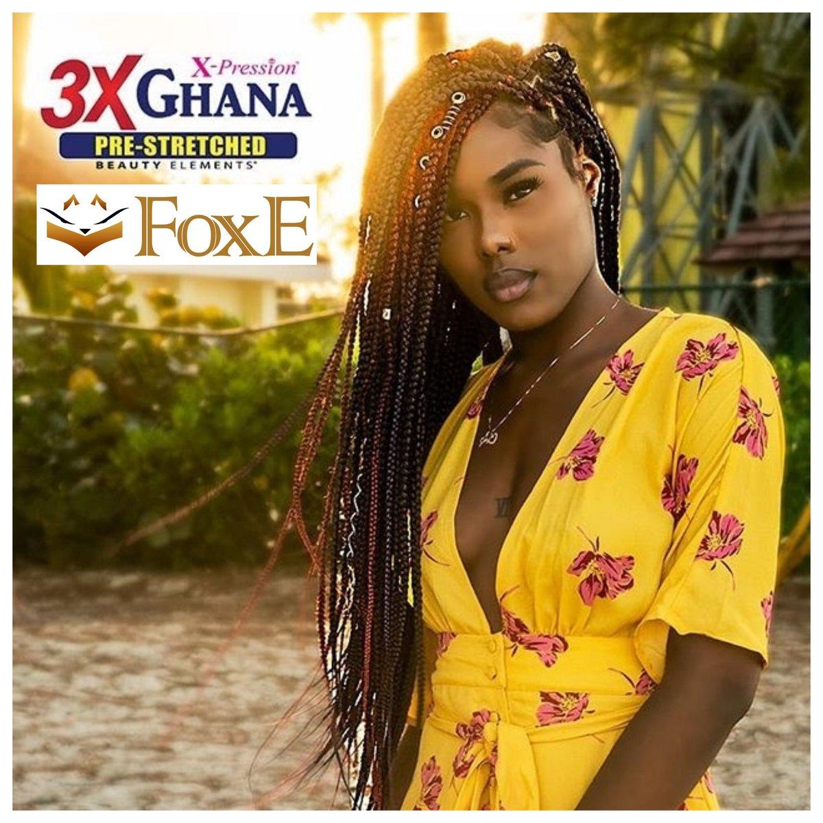 Foxe Jamaica On Twitter Realistic 3x Ghana Prestretched Braid In Length 50 By Bijoux Beauty Elements Create Unlimited Braid Hairstyles Finebraids Mediumbraids Shouldlengthbraids Braidhairstyles Hairblogger Hairinfluencer Braidblogger