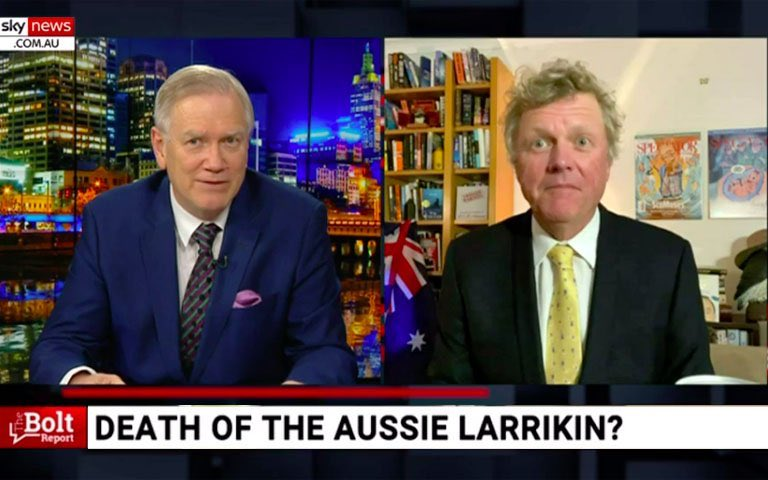 """The Aussie Larrikin Is Dead"" Says The Last Two Cunts On Earth That You'd Invite To The Pub: https://t.co/zWaevWMbyu https://t.co/pN211le6Ml"