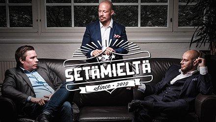 .@TomiHaustola, @kormis ja @anttiakonniemi ovat itselleen yllättävän setäisiä miehiä, jotka puhuvat Setämieltä-podcastissa kaikesta penkkituloksista tunteisiin.  Setämiehet kertaavat juhannuskuulumiset ja sukeltavat ryijyjen ihmeelliseen maailmaan! https://t.co/ODKHEfw5aY https://t.co/Twkamo3EIn