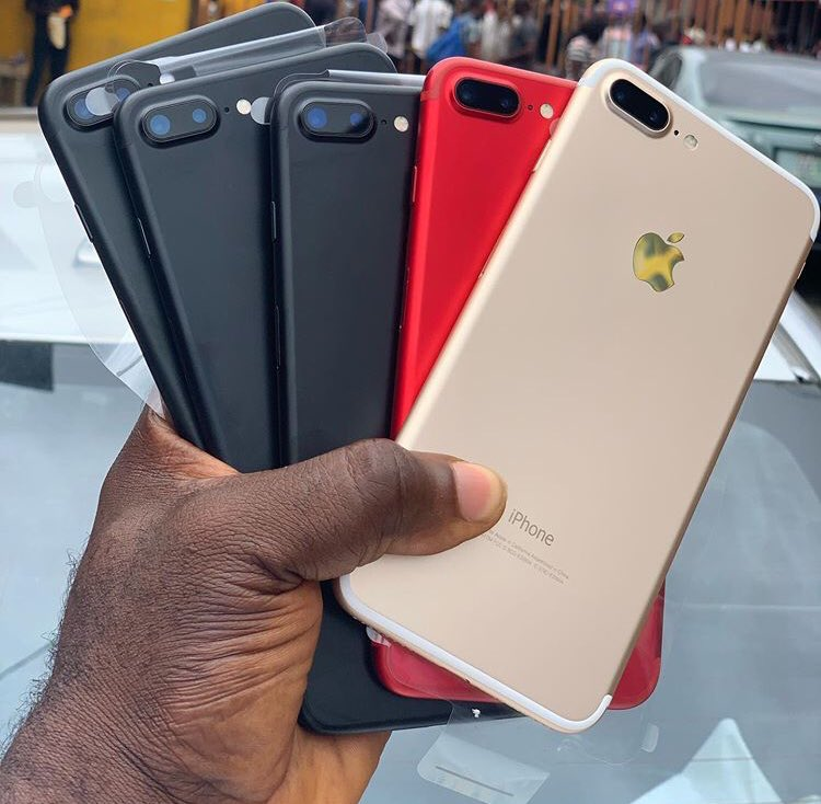 If u didn't get the iphone  7 from the #StrongerTogther promo no problem Adey for u . I have all kinds of iPhones and Apple products . Just hmu let's make a deal  Call/WhatsApp - 0243786435  Pls retweet  #dontleavechallenge #kennedyagyapong  #JumiaGhana  Sark Kennedypic.twitter.com/AuOYhJrHUI  by Alo Phone Dealer