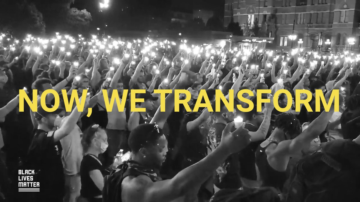 Change is coming and together, we have work to do. Watch and share @BlkLivesMatter newest video #BlackLivesMatter  https://t.co/w48FbGSBg3 https://t.co/sRQIiynXTB