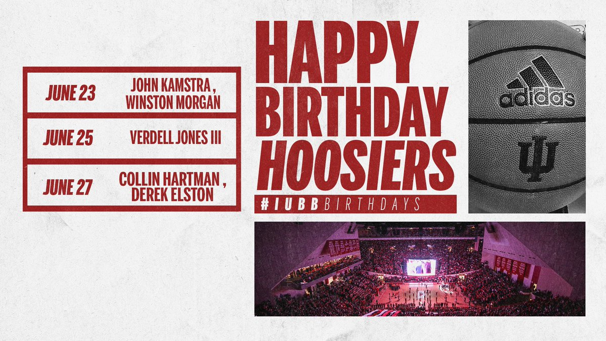 🎂 Happy birthday to these Hoosiers! https://t.co/WxhTH9Toks
